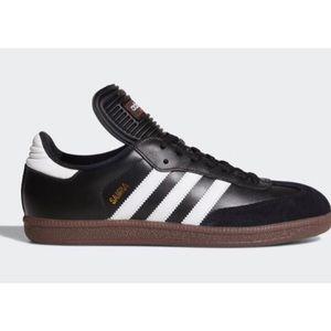 Adidas Samba Classic Black with White Size 10